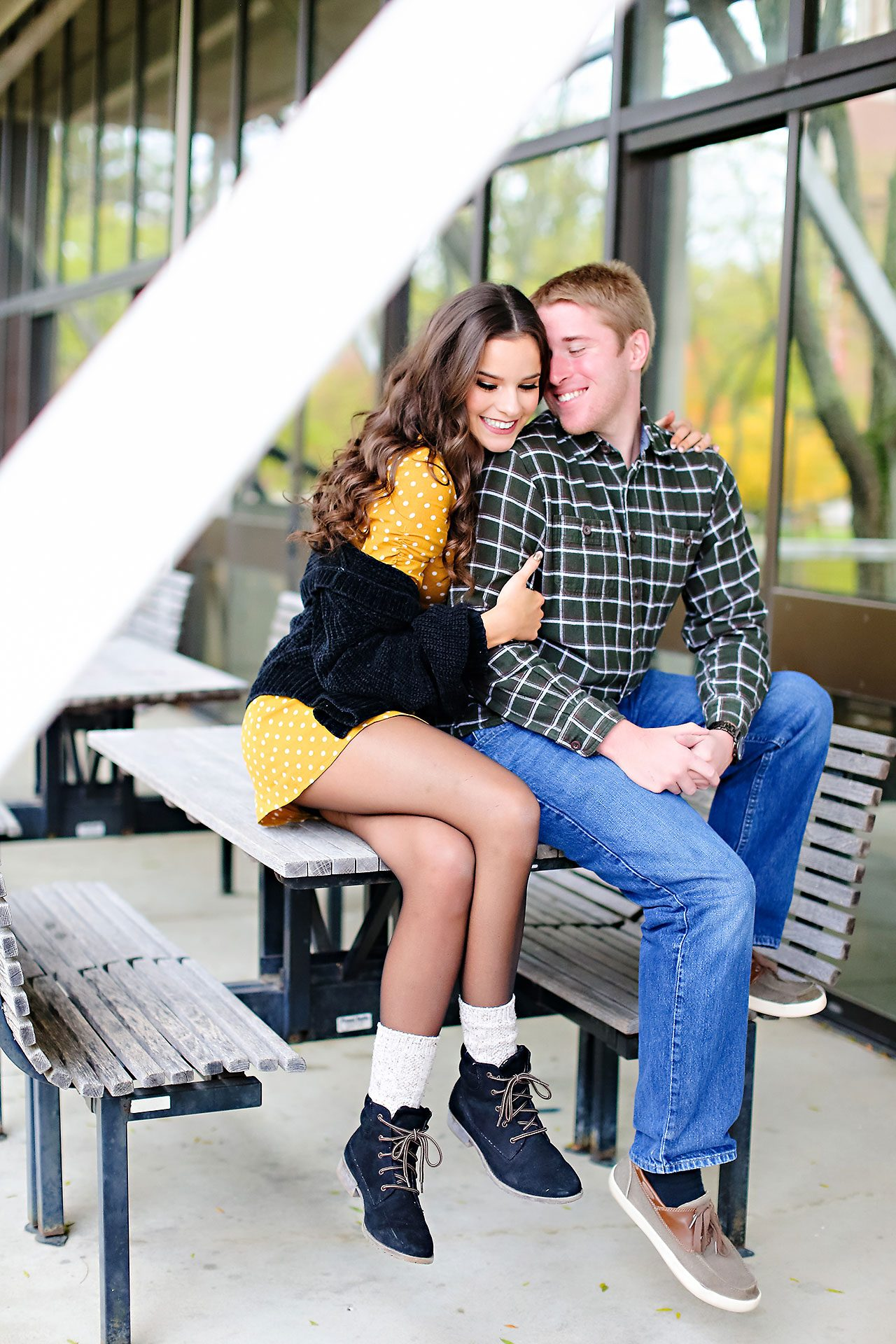 Hannah Ian Ball State Engagement Session 012