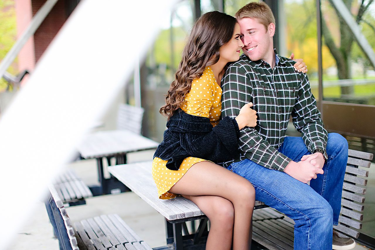 Hannah Ian Ball State Engagement Session 014