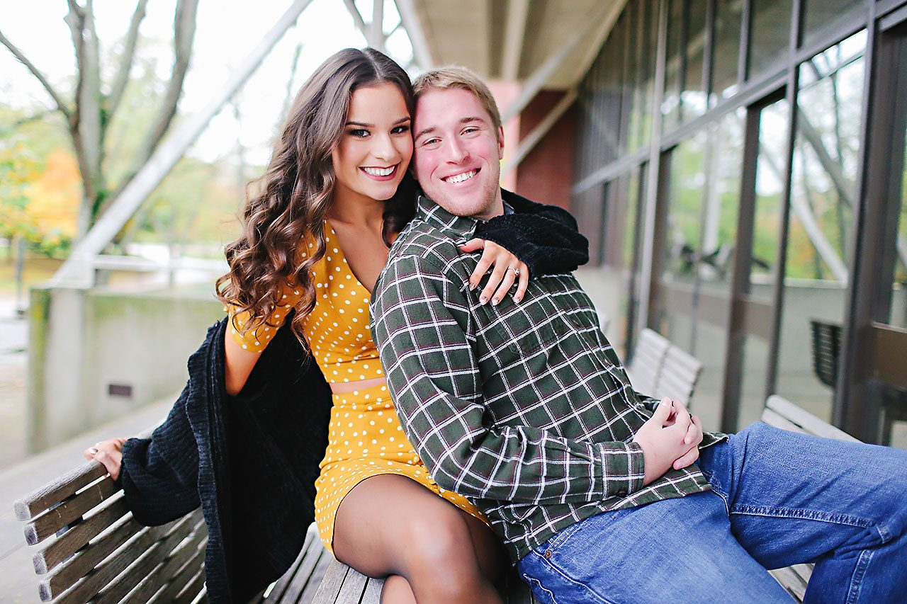 Hannah Ian Ball State Engagement Session 016