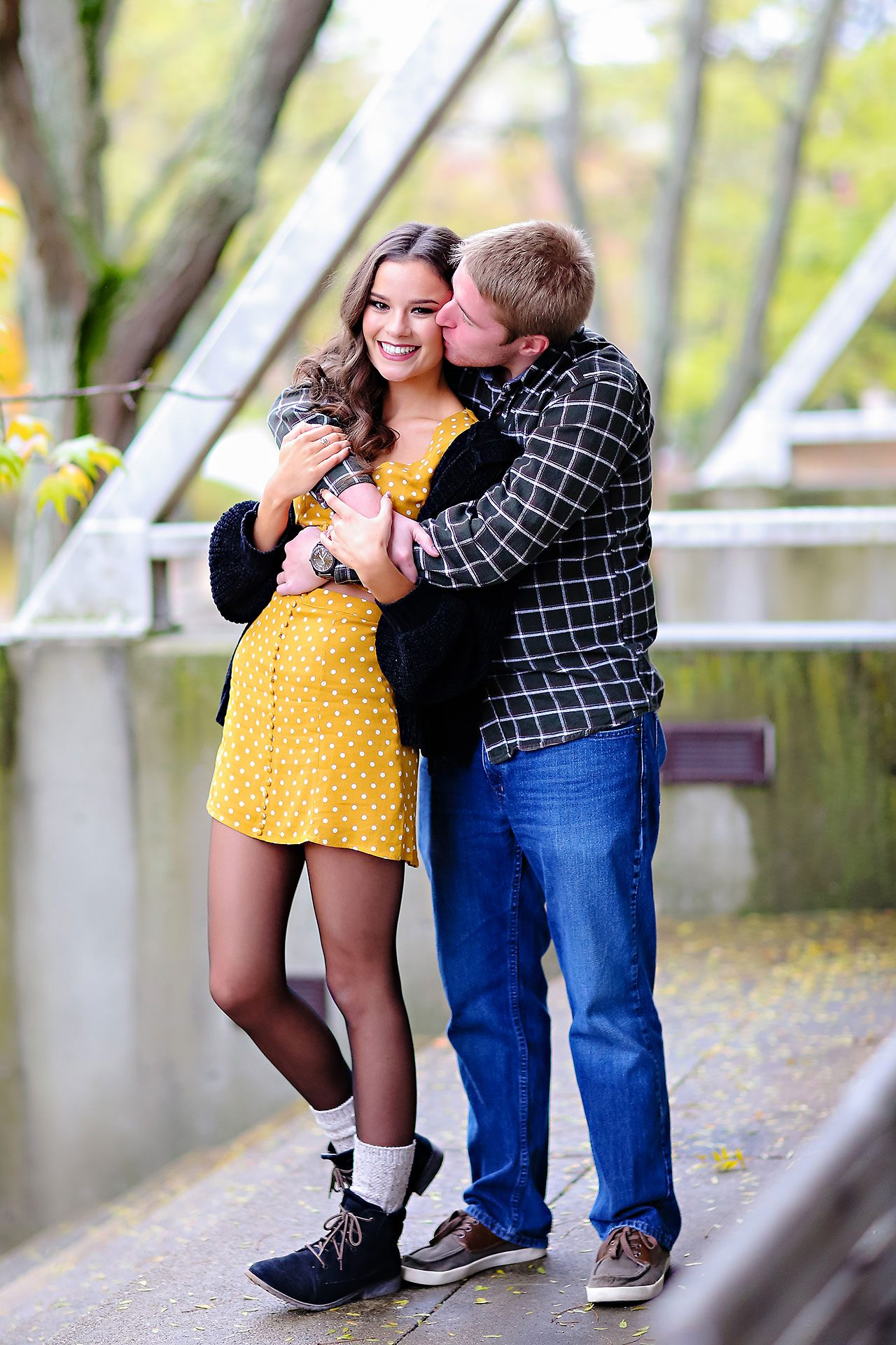 Hannah Ian Ball State Engagement Session 024