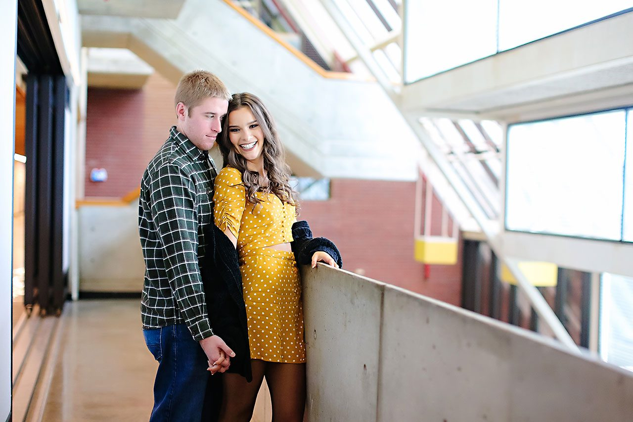 Hannah Ian Ball State Engagement Session 032