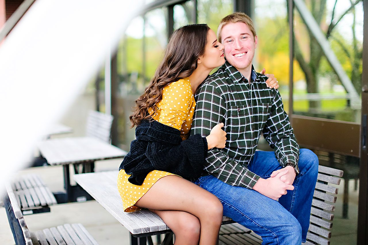 Hannah Ian Ball State Engagement Session 034