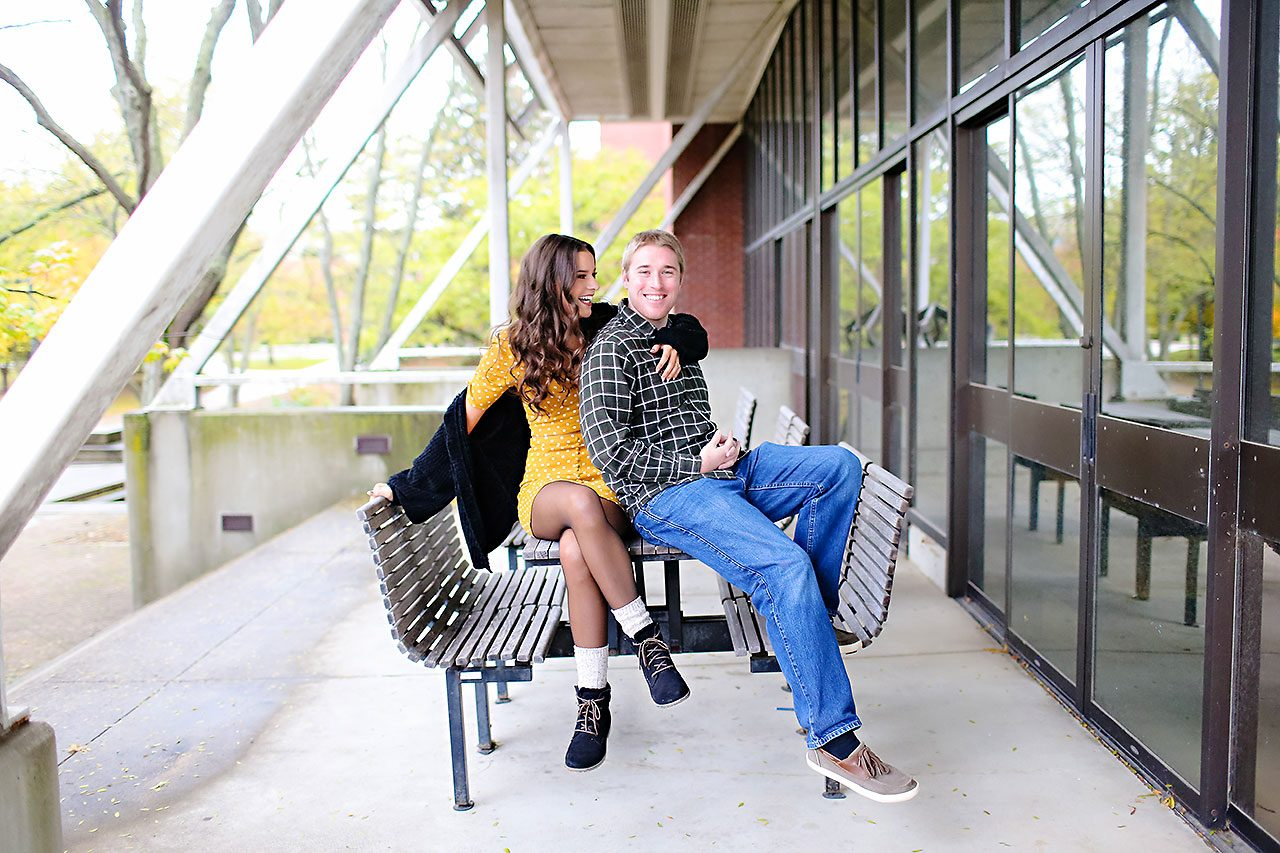 Hannah Ian Ball State Engagement Session 035