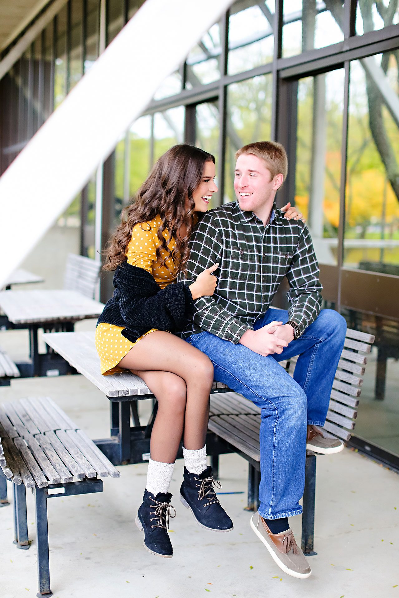 Hannah Ian Ball State Engagement Session 040
