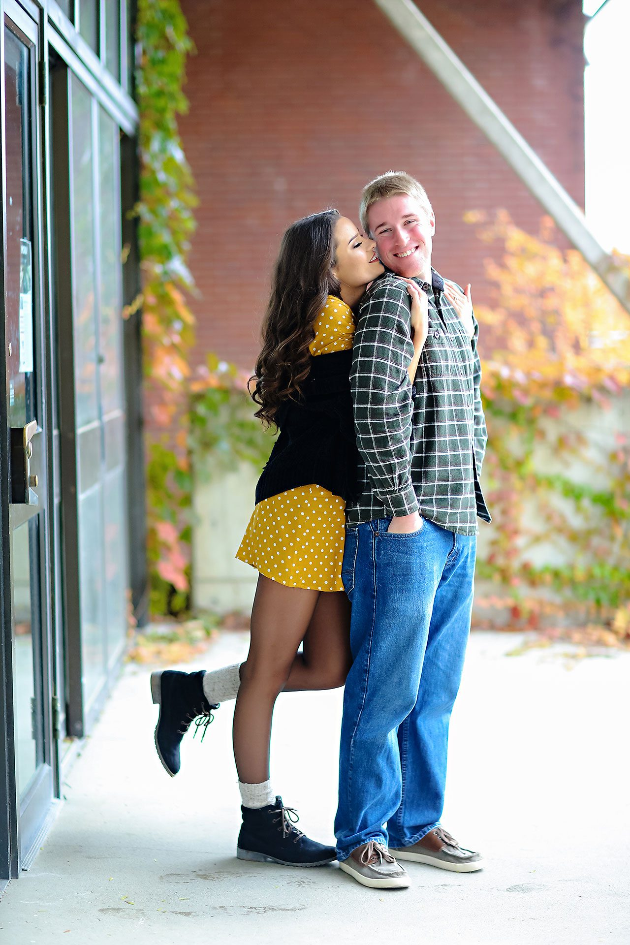 Hannah Ian Ball State Engagement Session 042