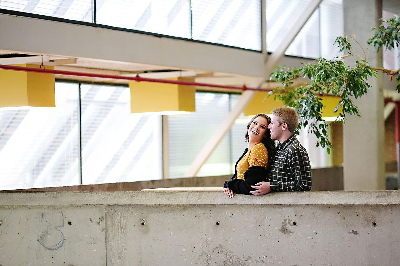 Hannah Ian Ball State Engagement Session 045