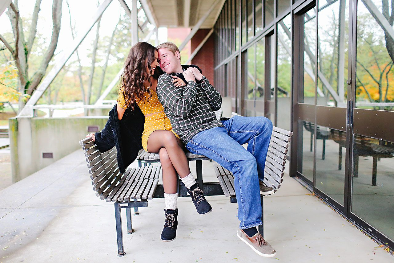 Hannah Ian Ball State Engagement Session 046