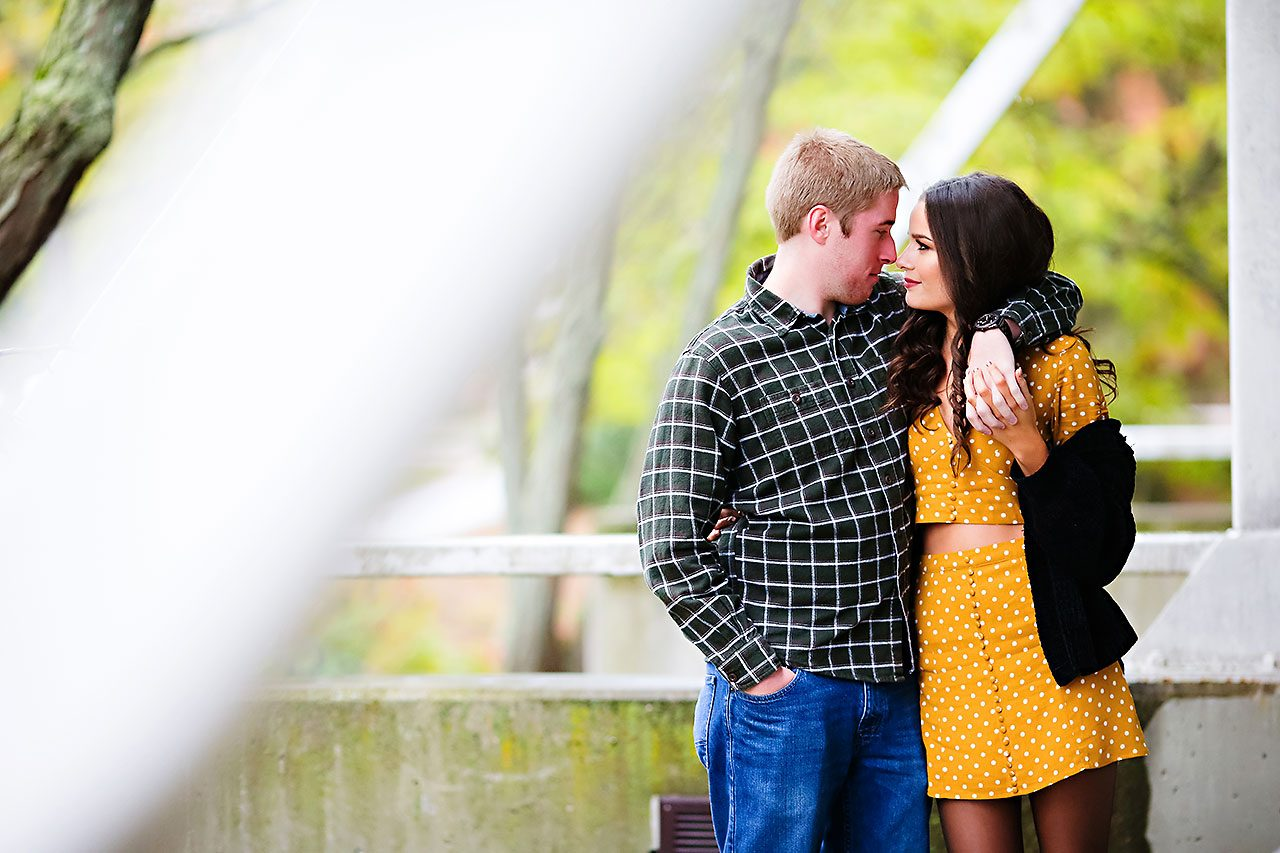 Hannah Ian Ball State Engagement Session 048