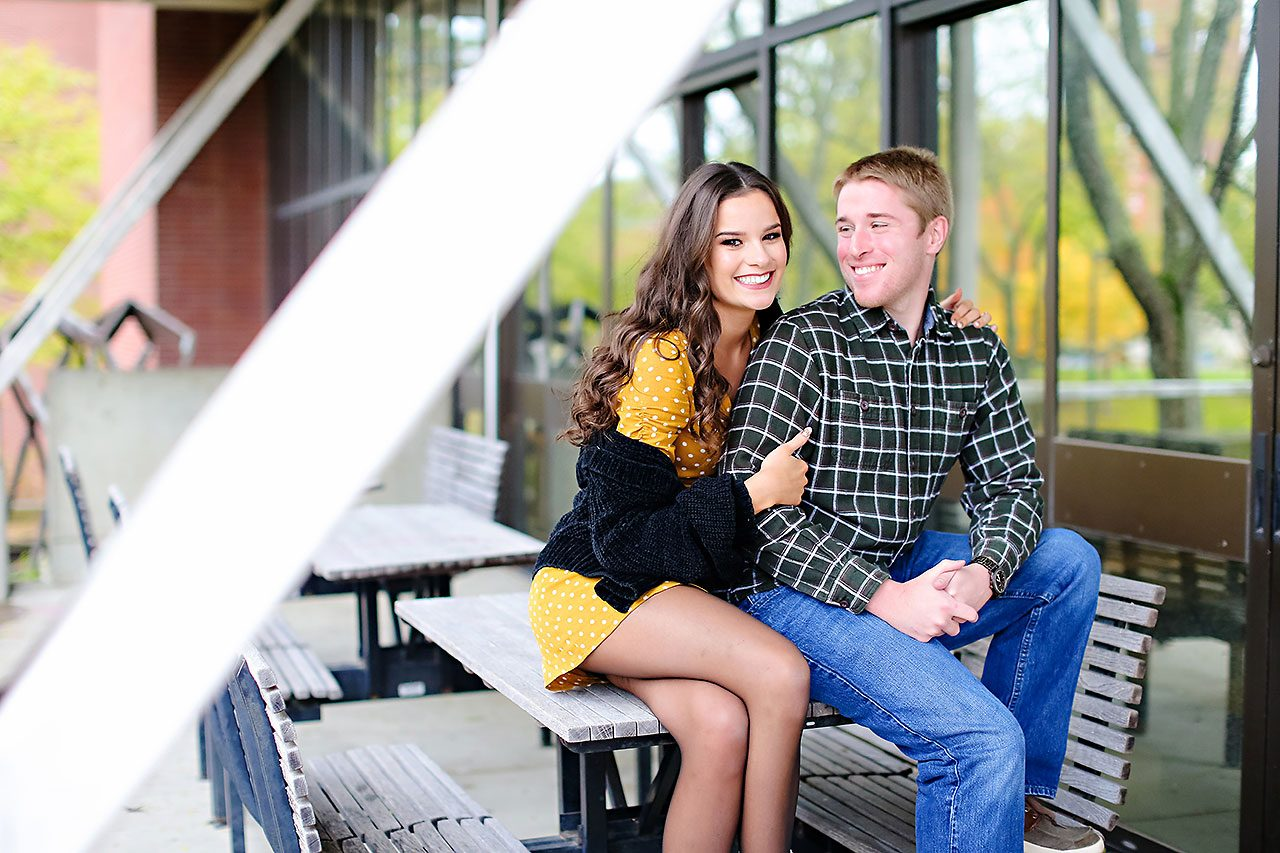 Hannah Ian Ball State Engagement Session 049