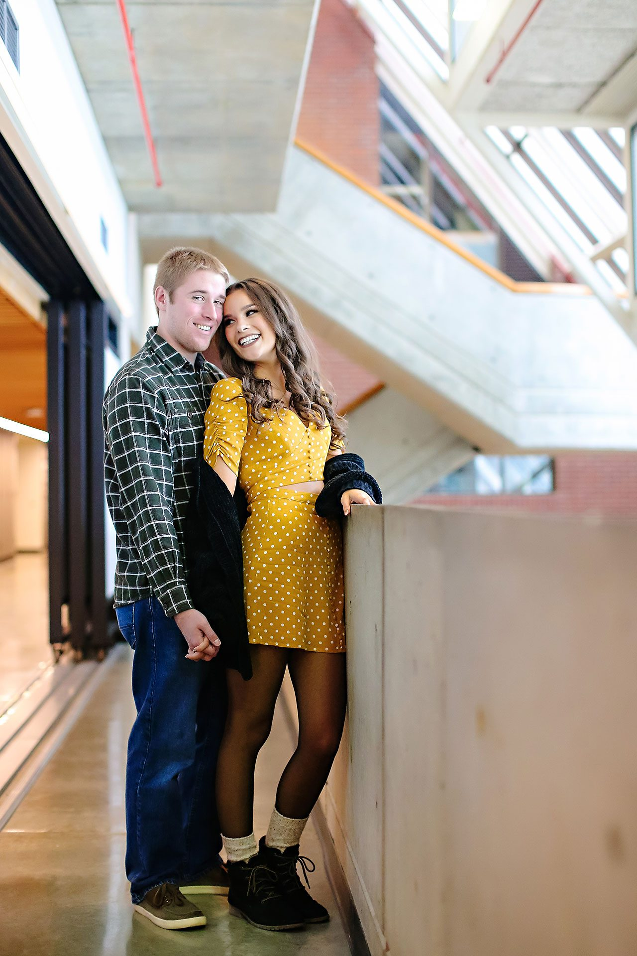 Hannah Ian Ball State Engagement Session 050
