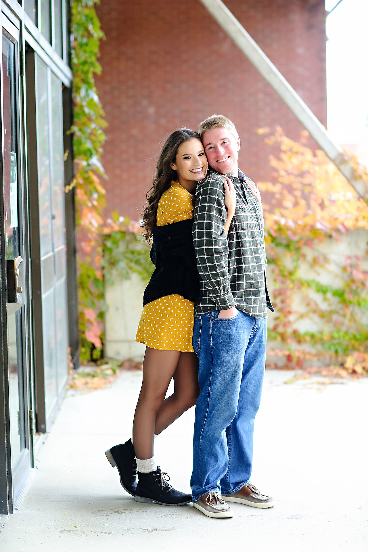 Hannah Ian Ball State Engagement Session 054