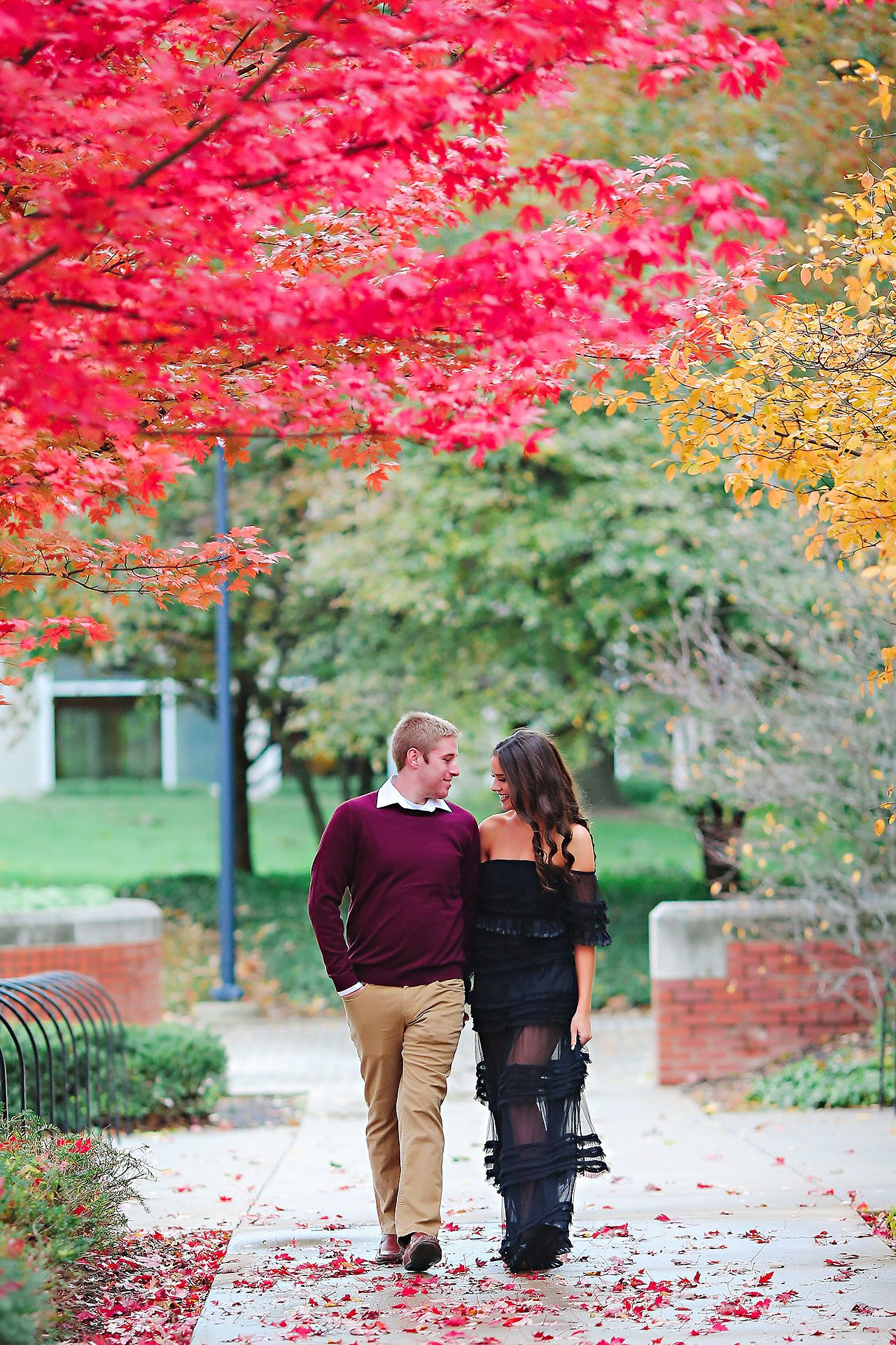 Hannah Ian Ball State Engagement Session 070