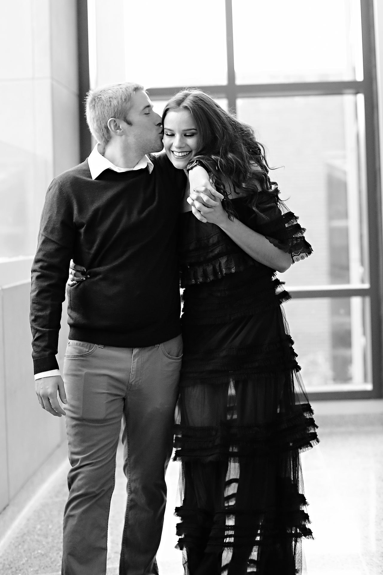 Hannah Ian Ball State Engagement Session 071