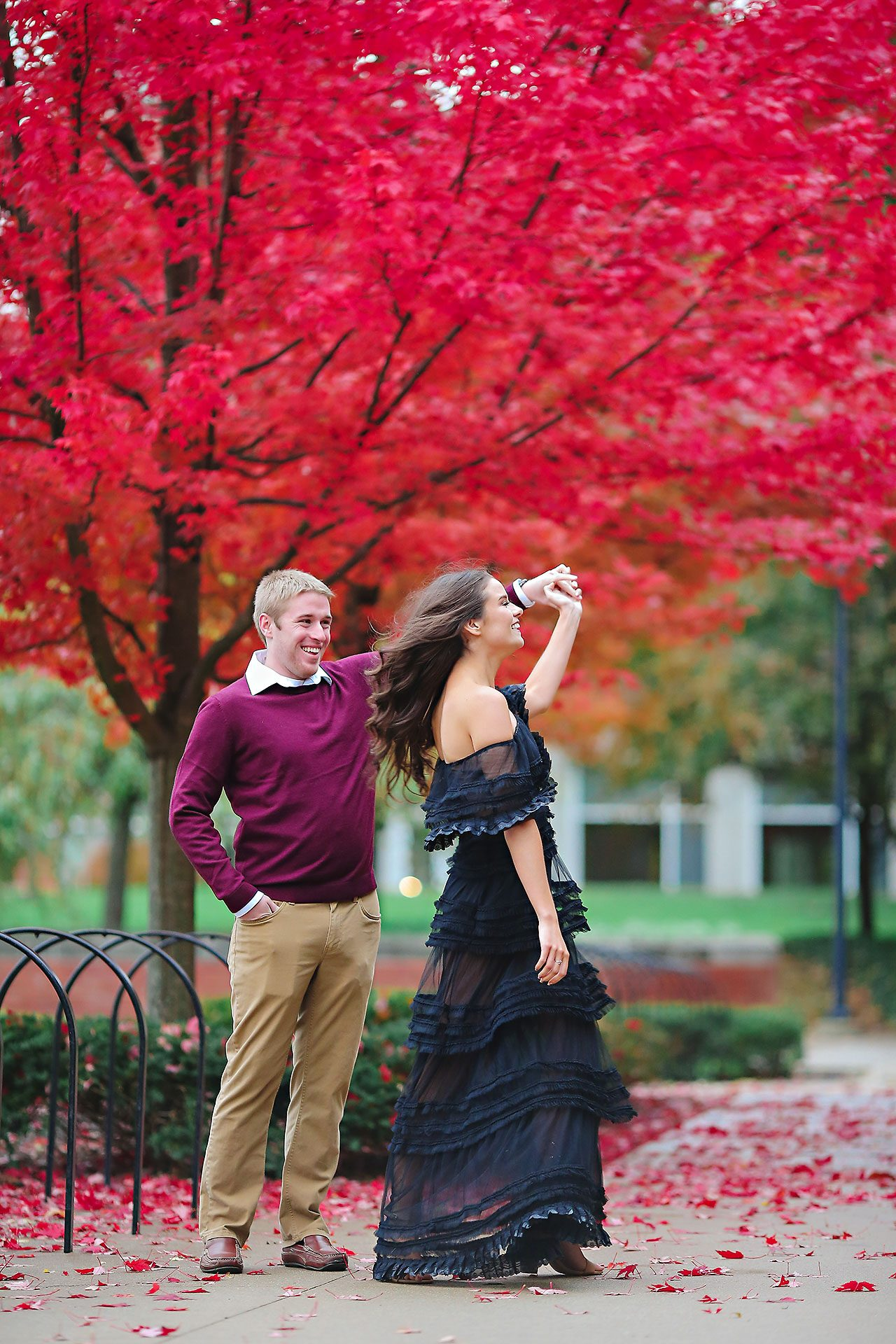 Hannah Ian Ball State Engagement Session 076