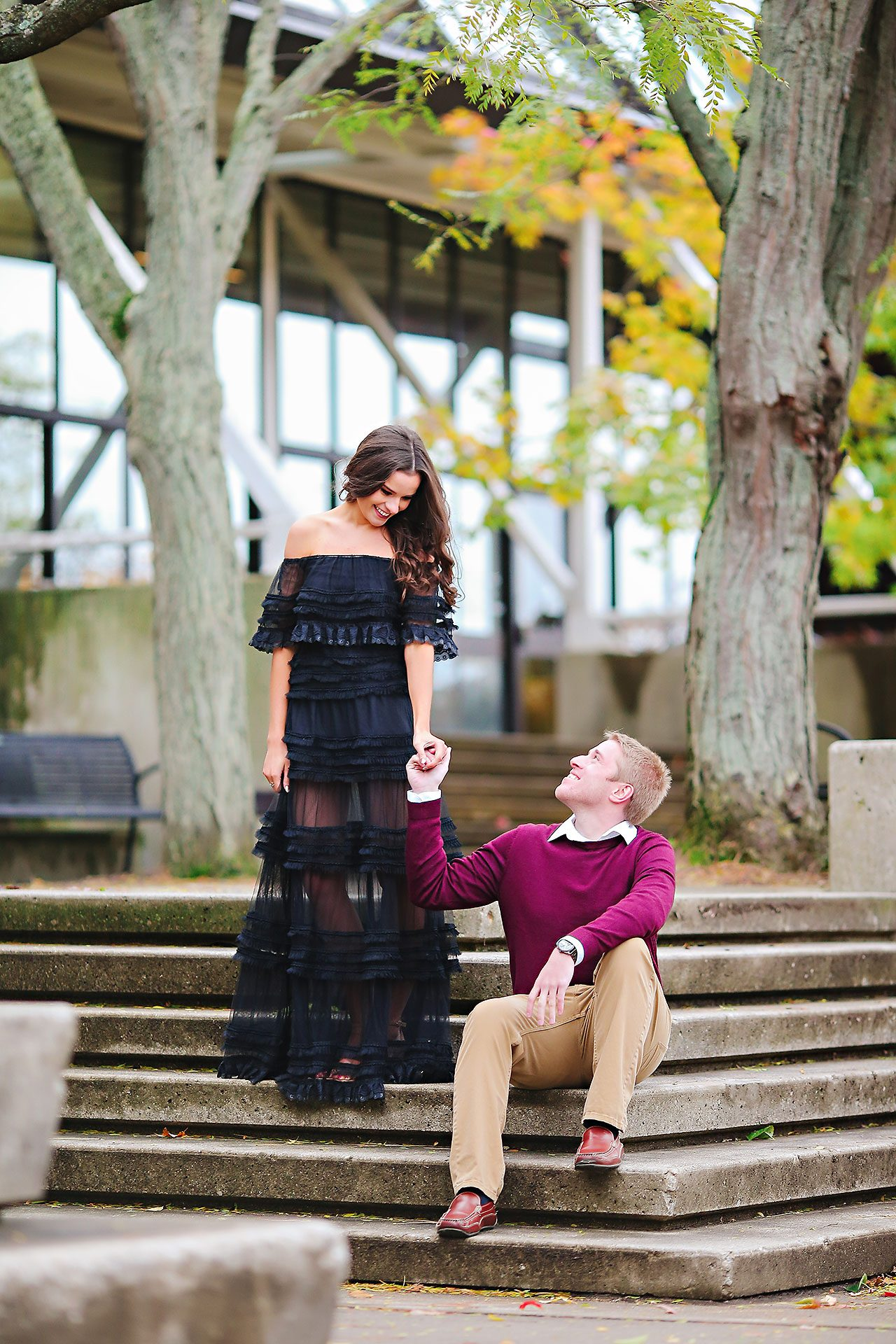 Hannah Ian Ball State Engagement Session 078