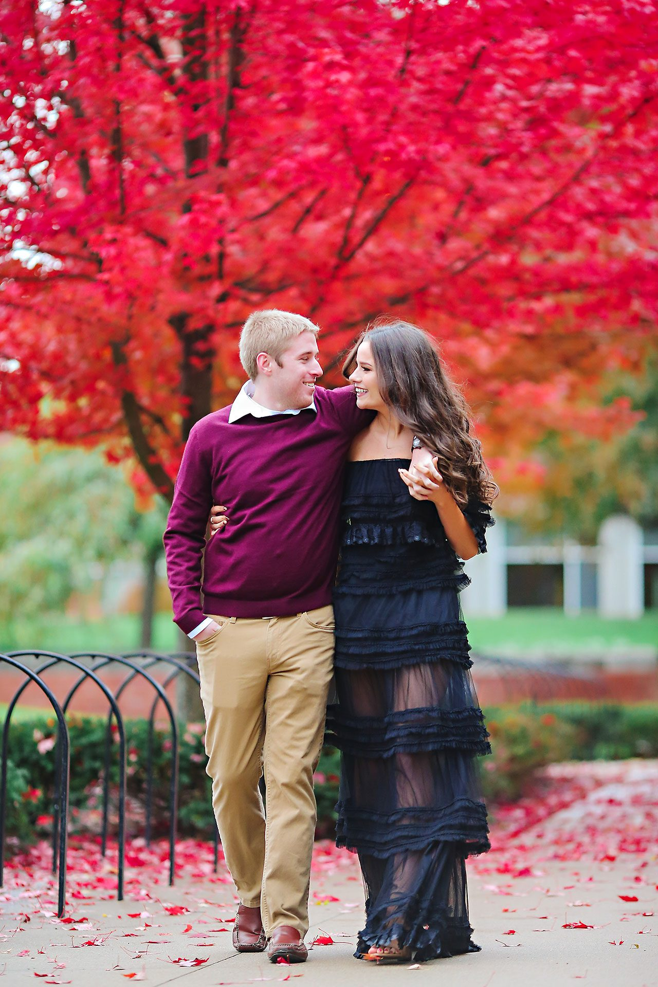 Hannah Ian Ball State Engagement Session 080