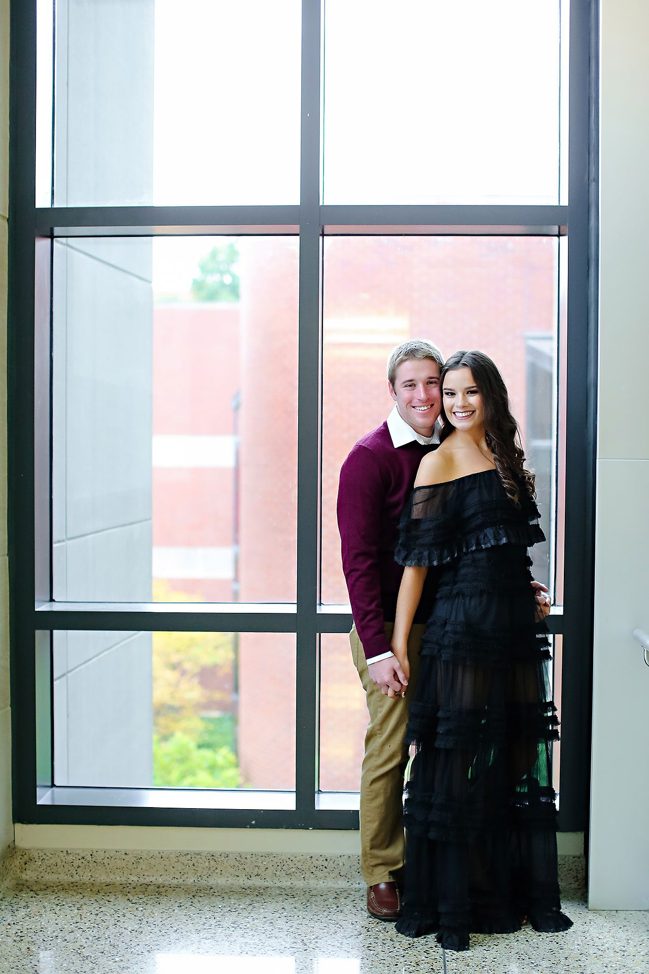 Hannah Ian Ball State Engagement Session 096