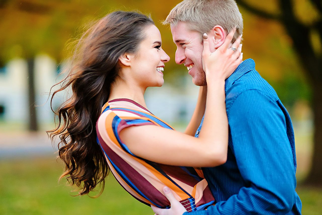 Hannah Ian Ball State Engagement Session 103