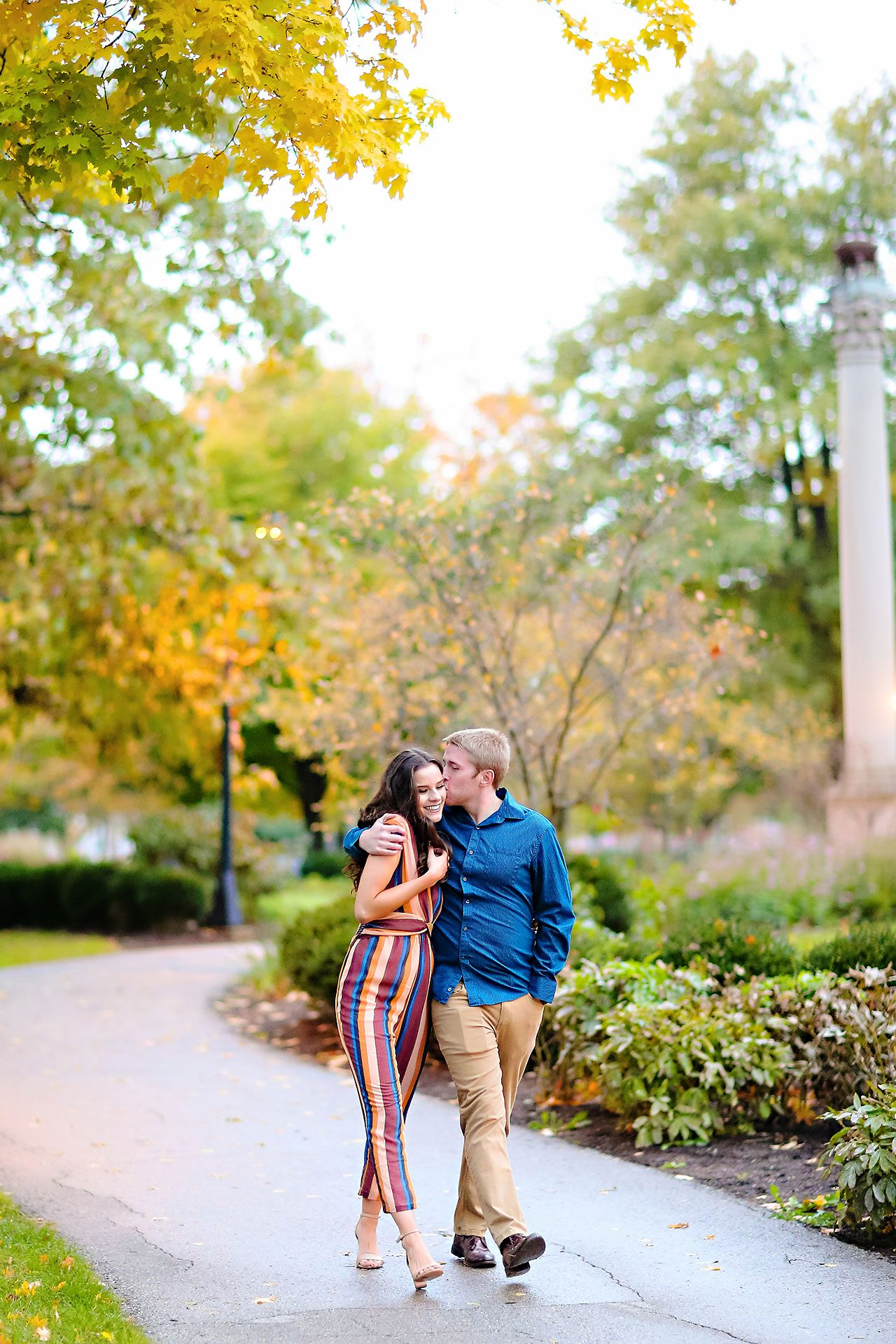 Hannah Ian Ball State Engagement Session 108
