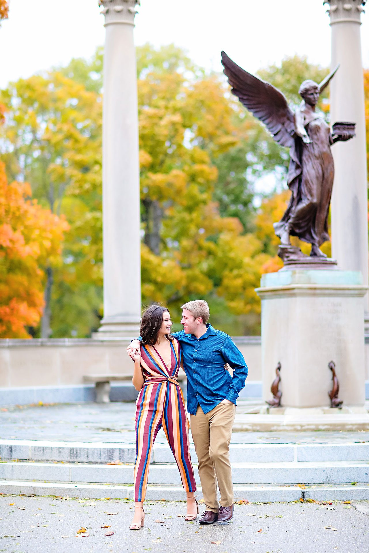 Hannah Ian Ball State Engagement Session 110