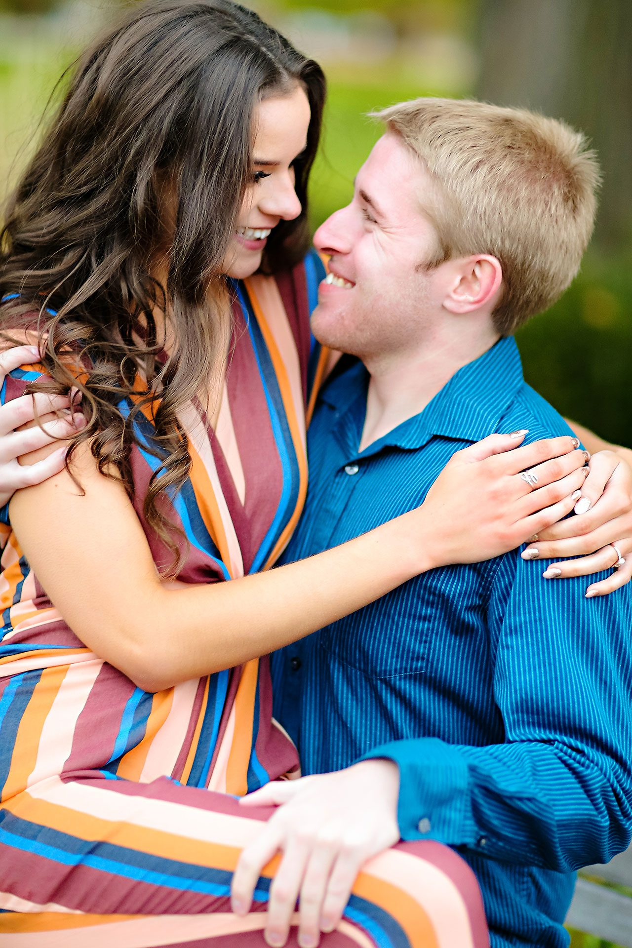 Hannah Ian Ball State Engagement Session 111