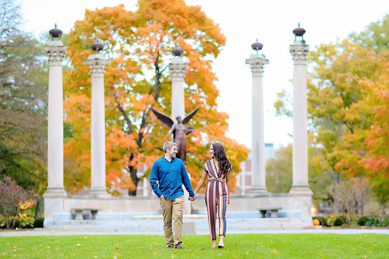 Hannah Ian Ball State Engagement Session 113