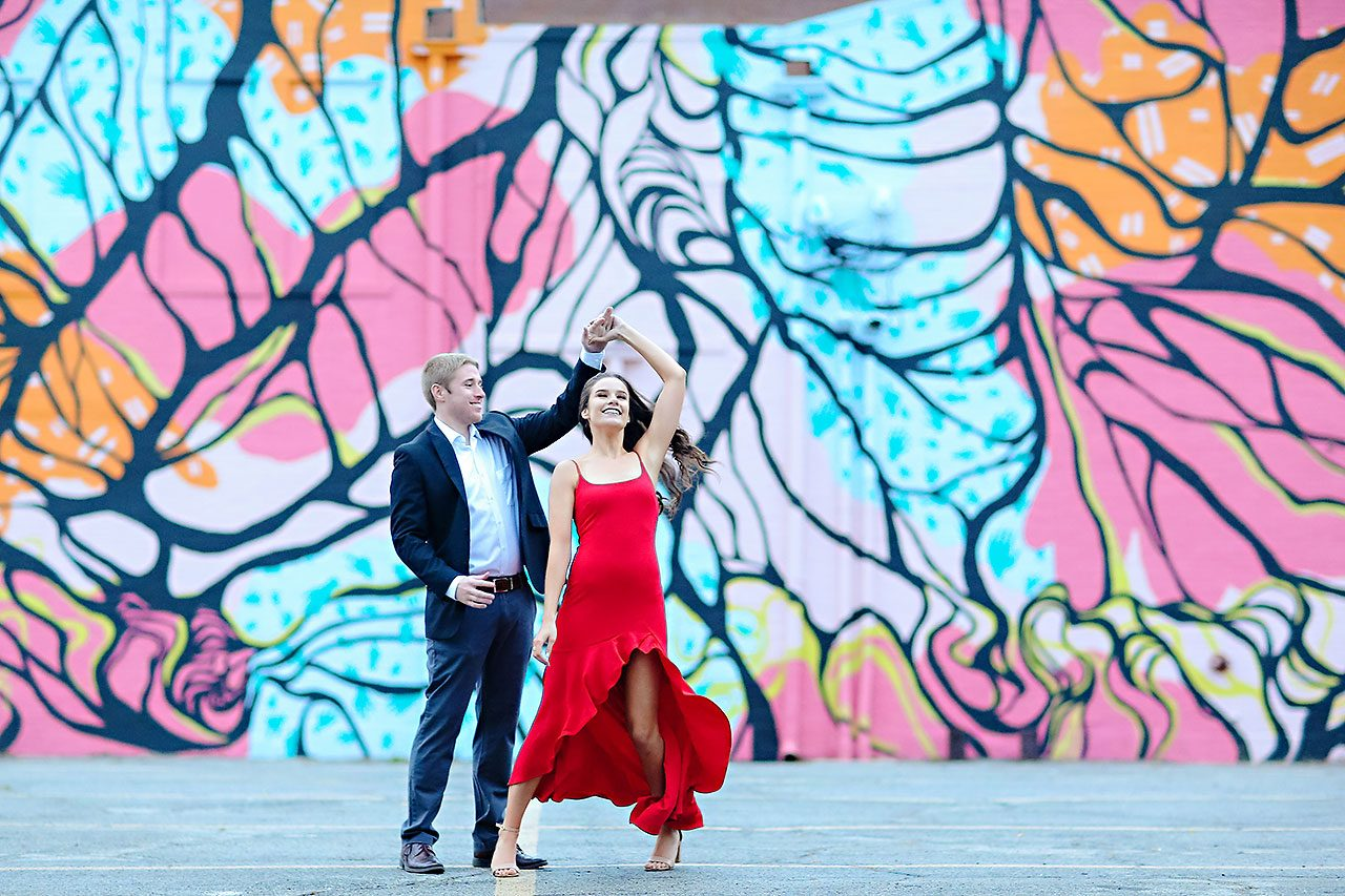 Hannah Ian Ball State Engagement Session 138