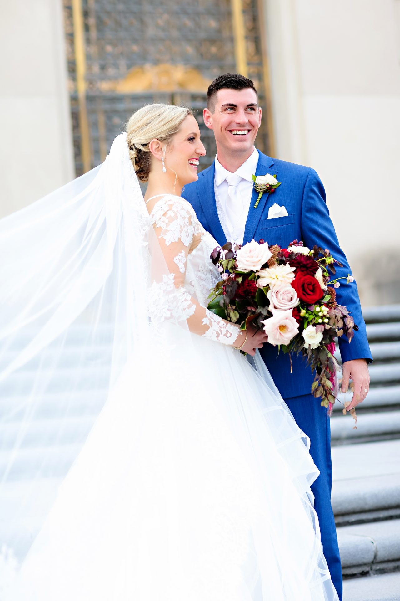 Jordan Ryan Indiana Roof Ballroom Wedding 146