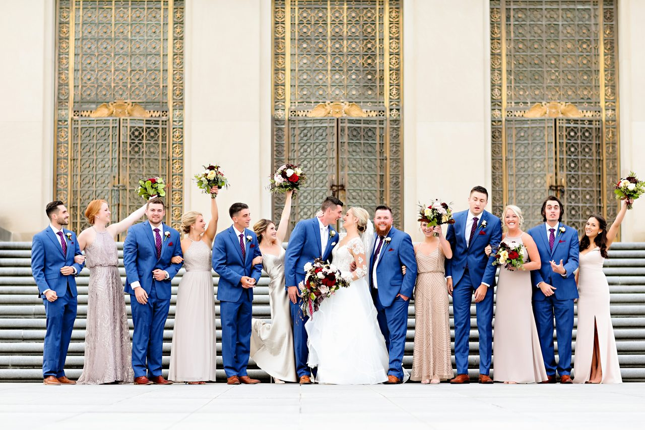 Jordan Ryan Indiana Roof Ballroom Wedding 151