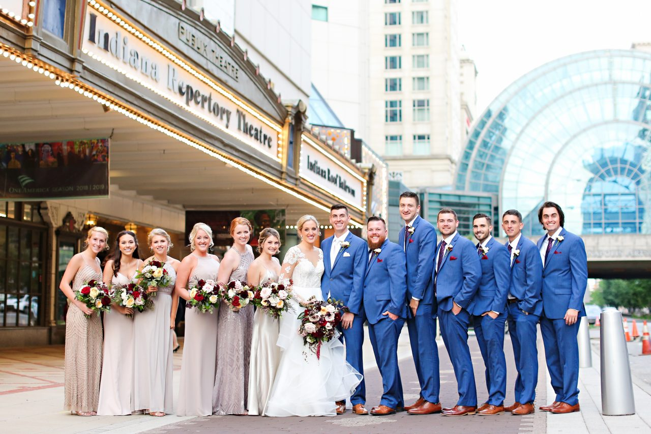 Jordan Ryan Indiana Roof Ballroom Wedding 245