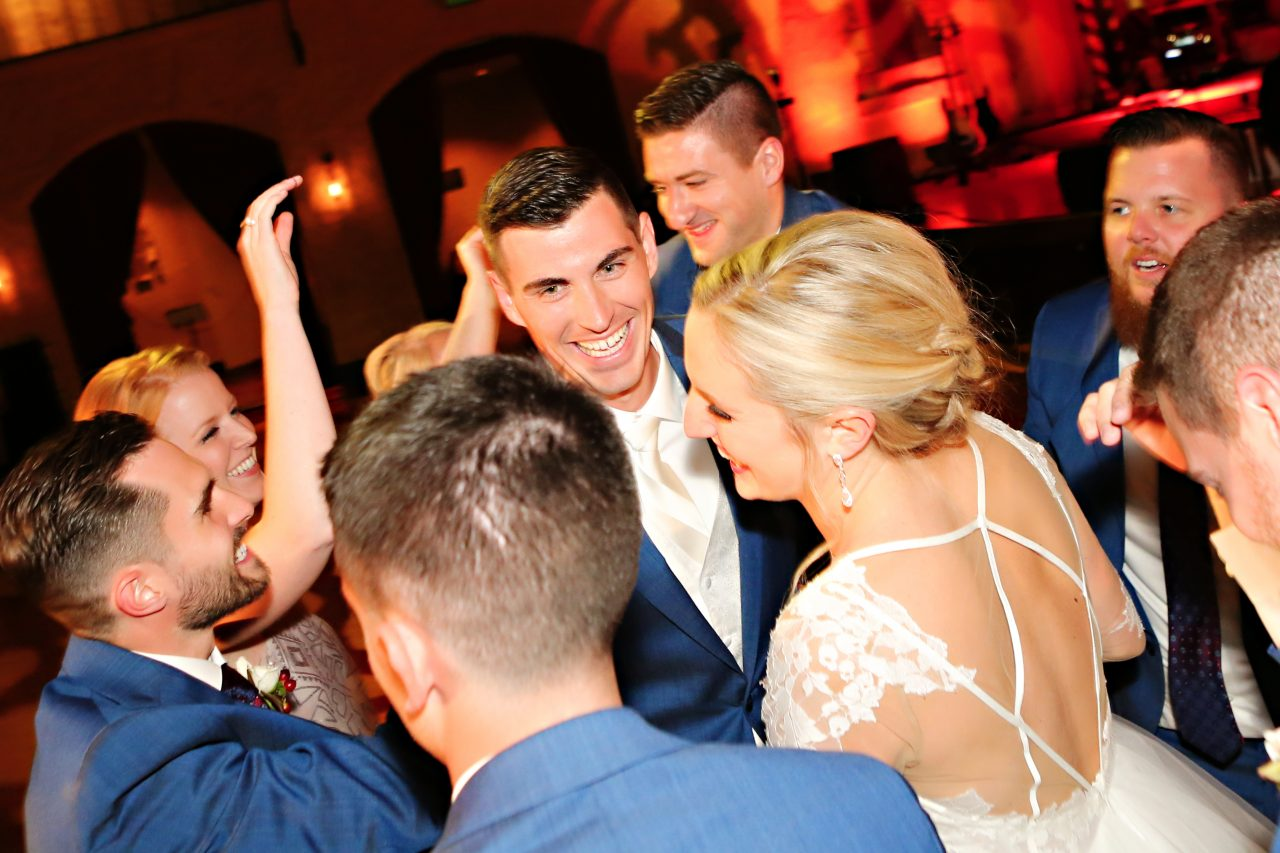 Jordan Ryan Indiana Roof Ballroom Wedding 317