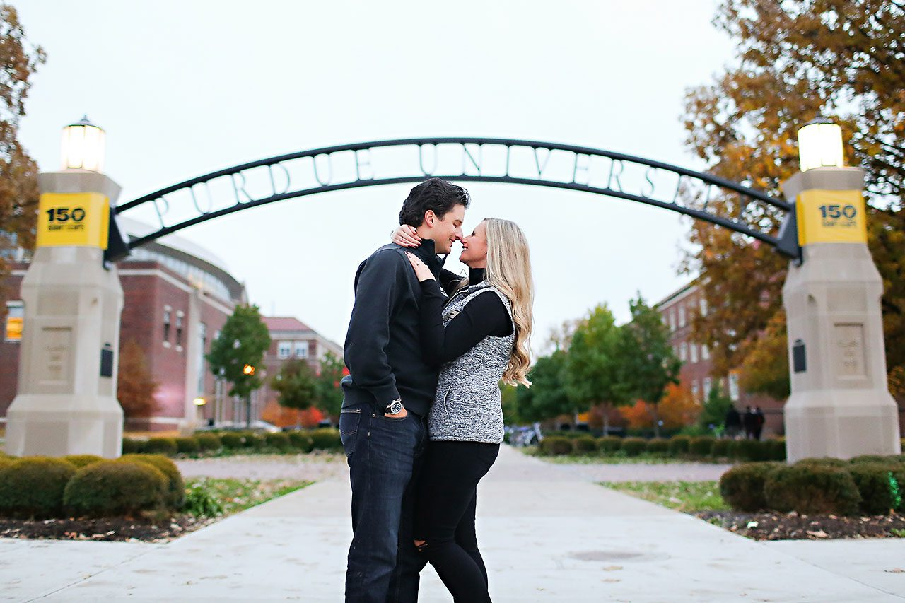 Laura Brandon Purdue Engagement Session 097