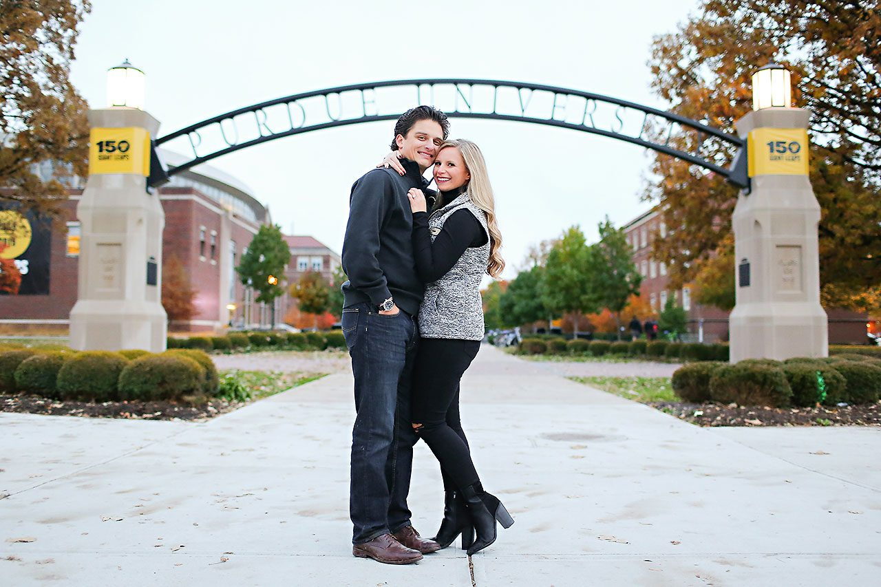 Laura Brandon Purdue Engagement Session 110