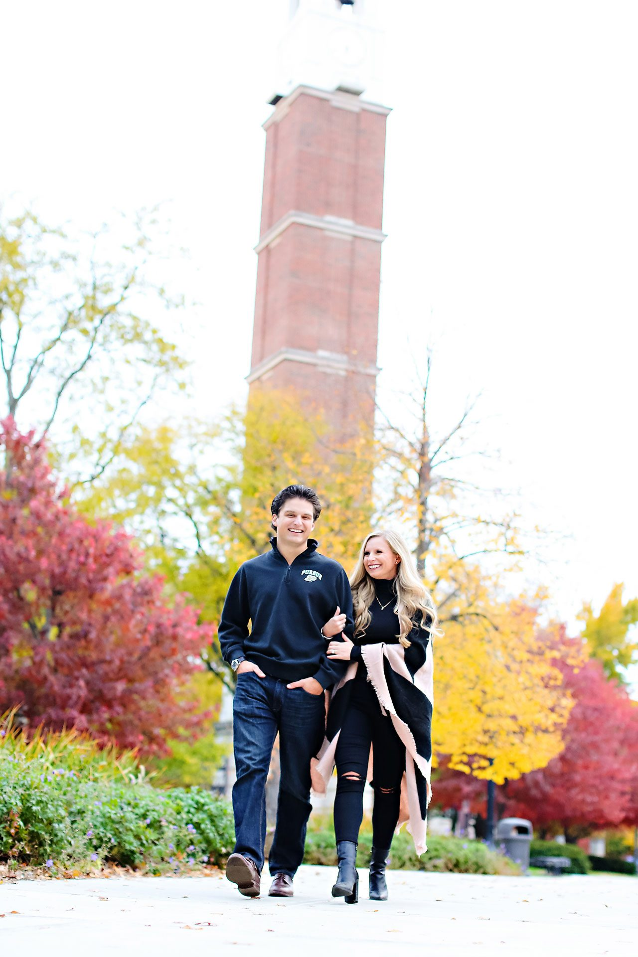 Laura Brandon Purdue Engagement Session 123