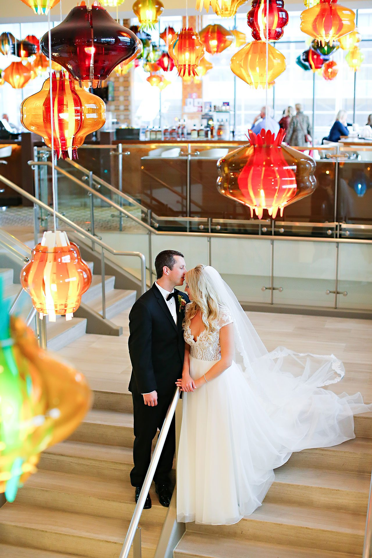 Emily Alex Indianapolis Central Library Wedding 113