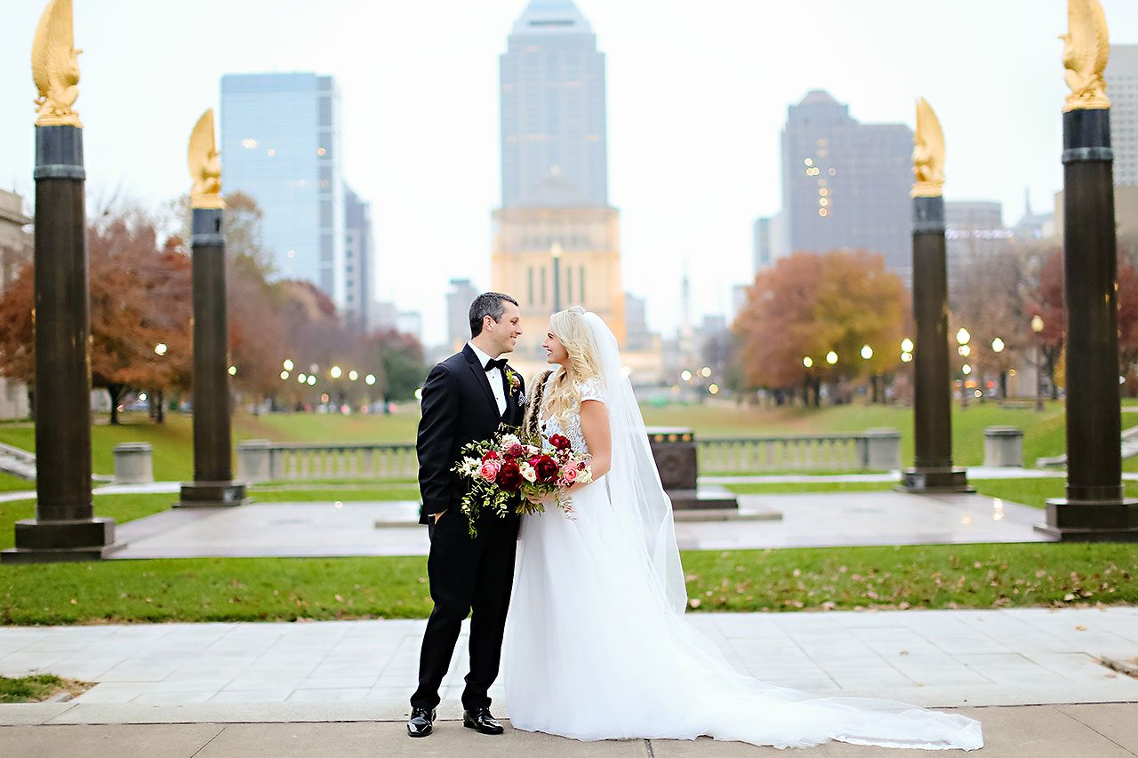 Emily Alex Indianapolis Central Library Wedding 161
