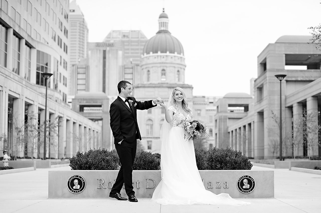 Emily Alex Indianapolis Central Library Wedding 169