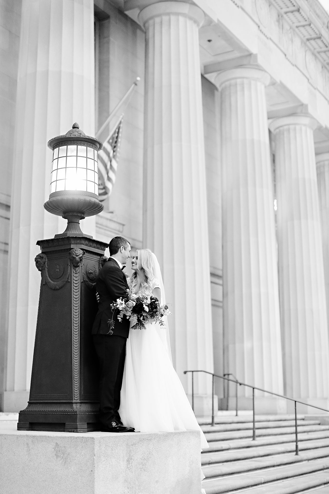 Emily Alex Indianapolis Central Library Wedding 178