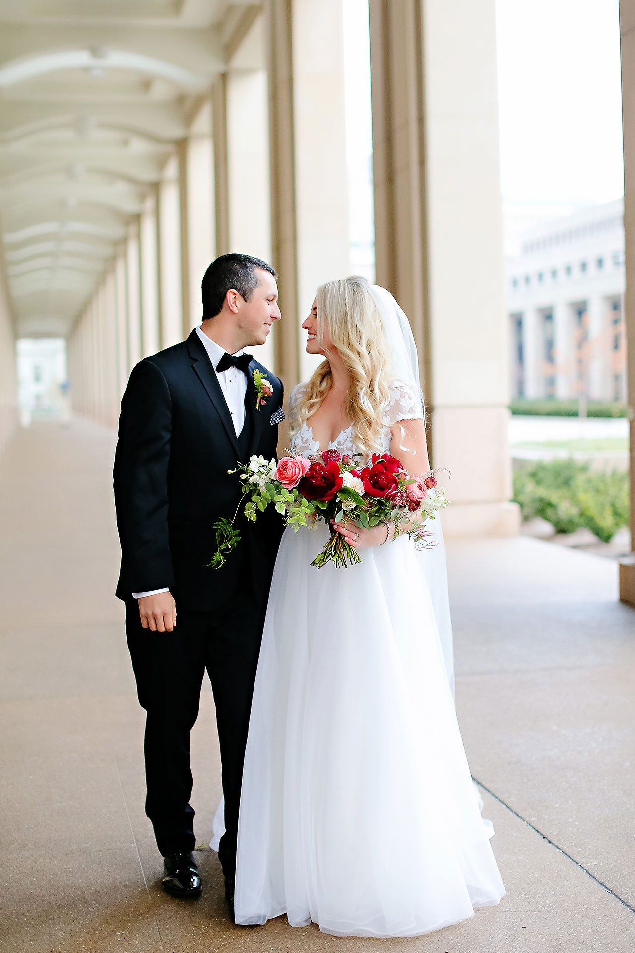 Emily Alex Indianapolis Central Library Wedding 180