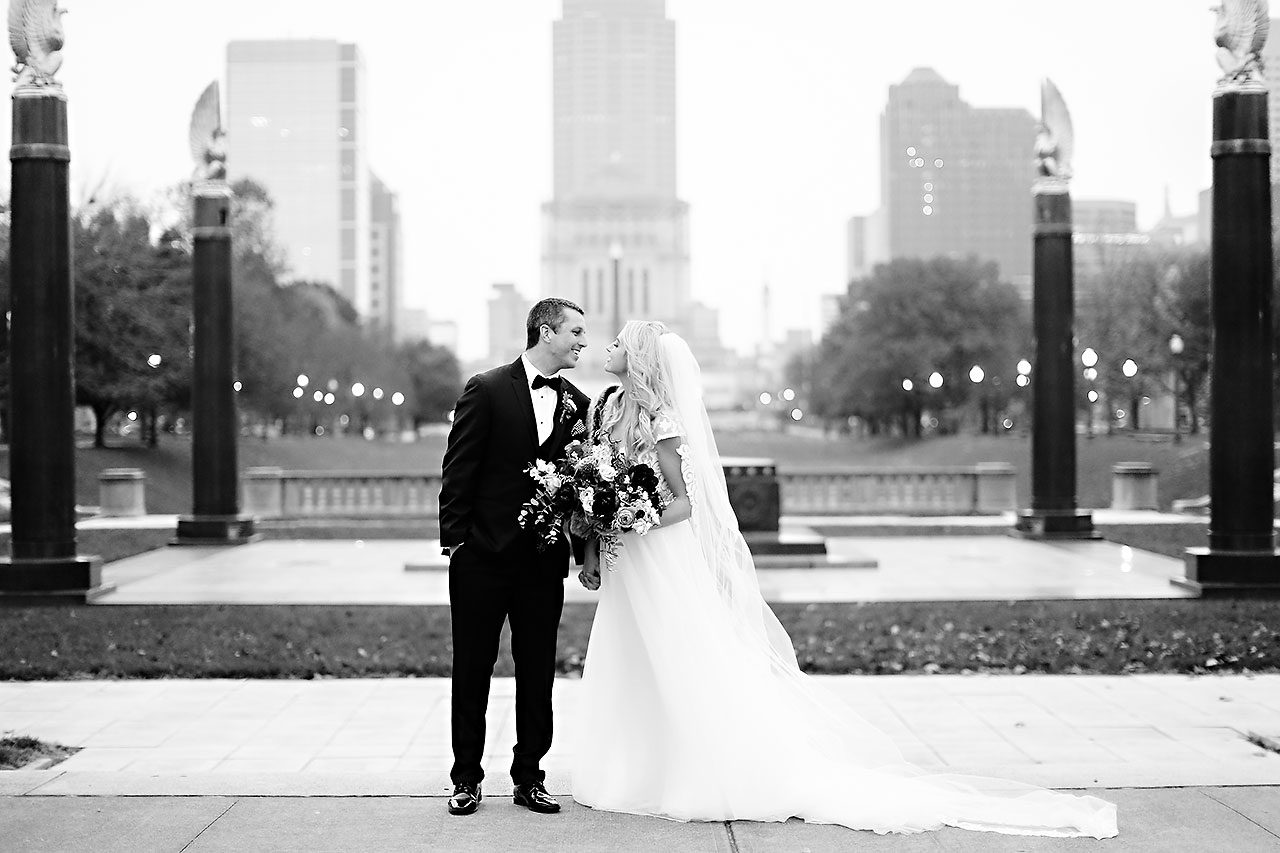Emily Alex Indianapolis Central Library Wedding 187