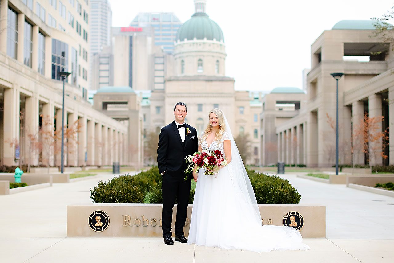 Emily Alex Indianapolis Central Library Wedding 191
