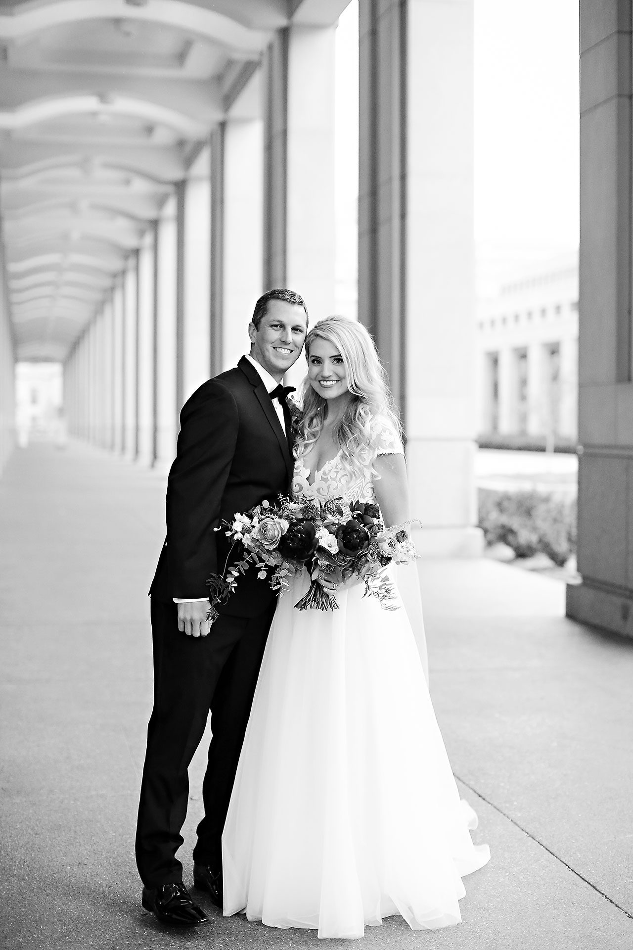 Emily Alex Indianapolis Central Library Wedding 195