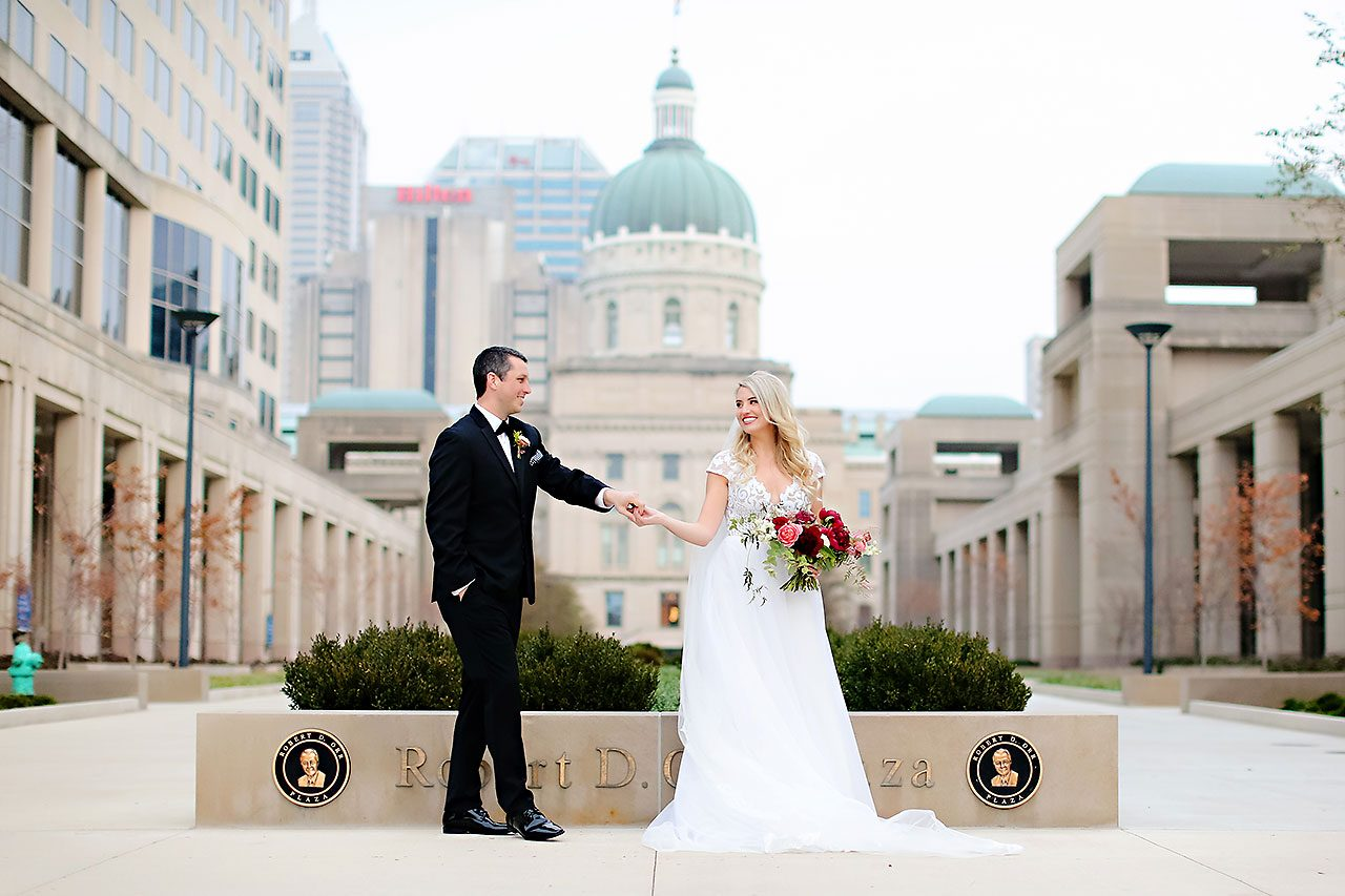 Emily Alex Indianapolis Central Library Wedding 209