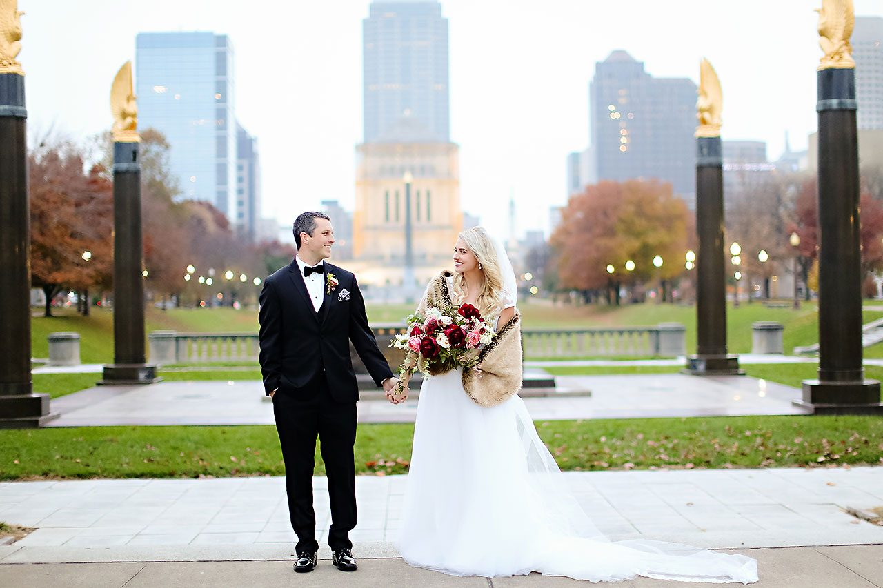 Emily Alex Indianapolis Central Library Wedding 215