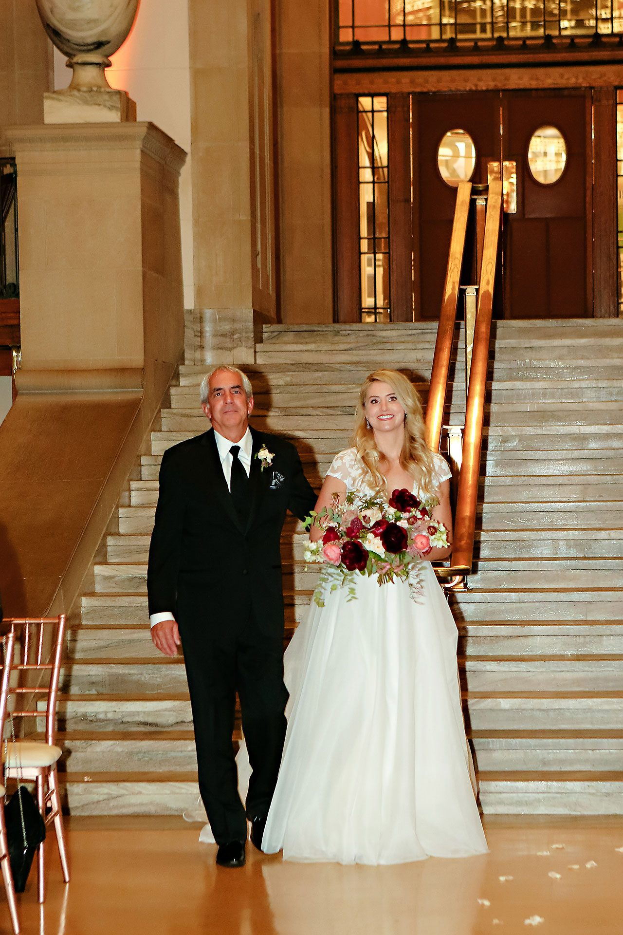 Emily Alex Indianapolis Central Library Wedding 233
