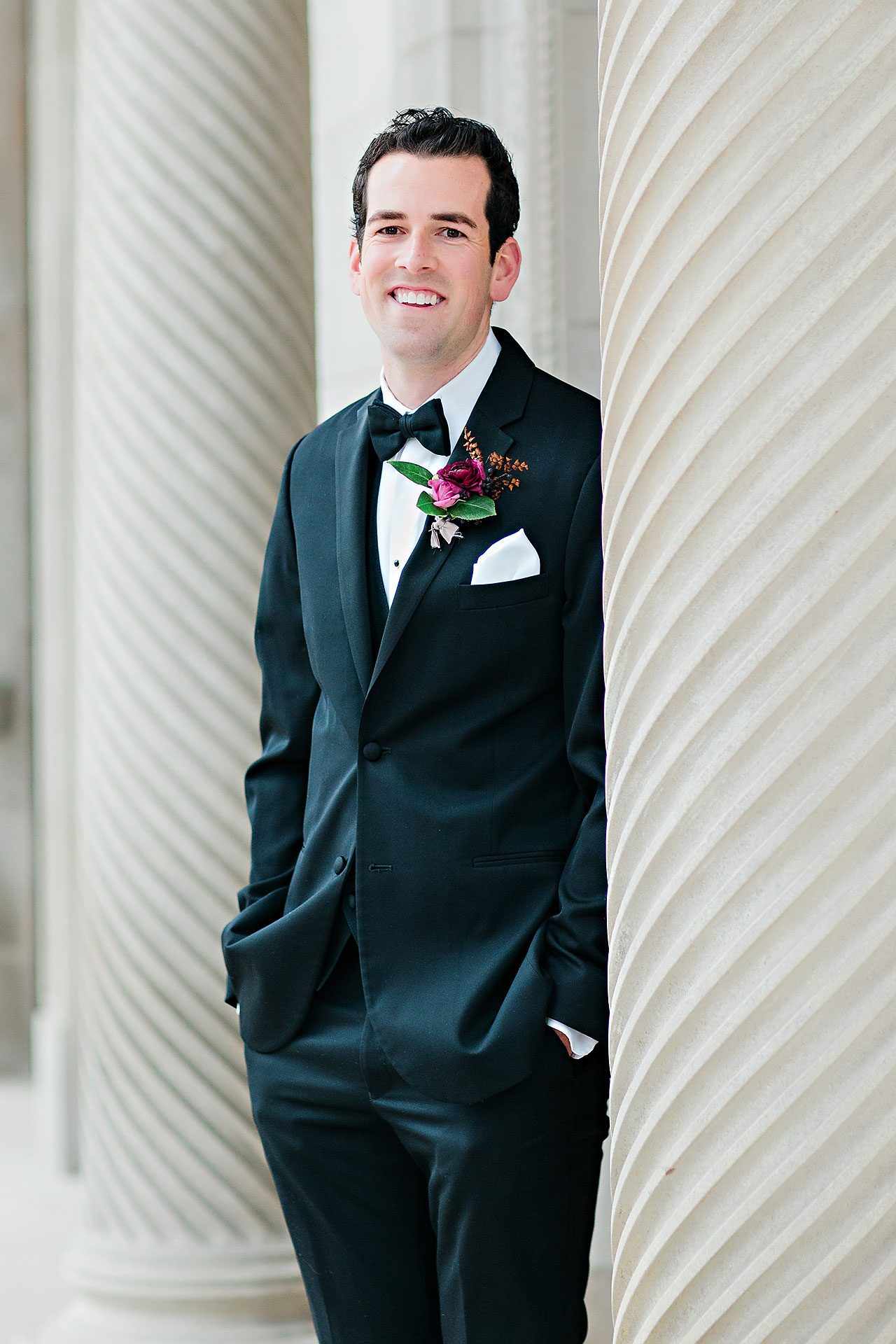 Marianne Steven Indianapolis Central Library Wedding 127