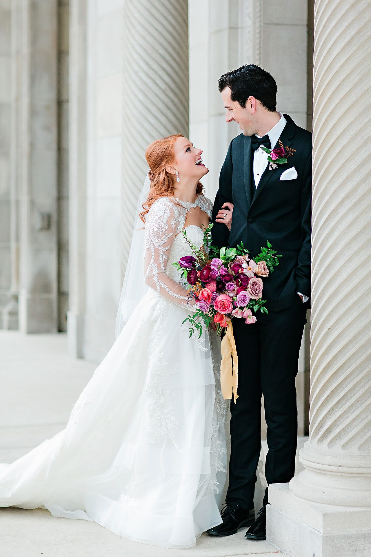 Marianne Steven Indianapolis Central Library Wedding 148