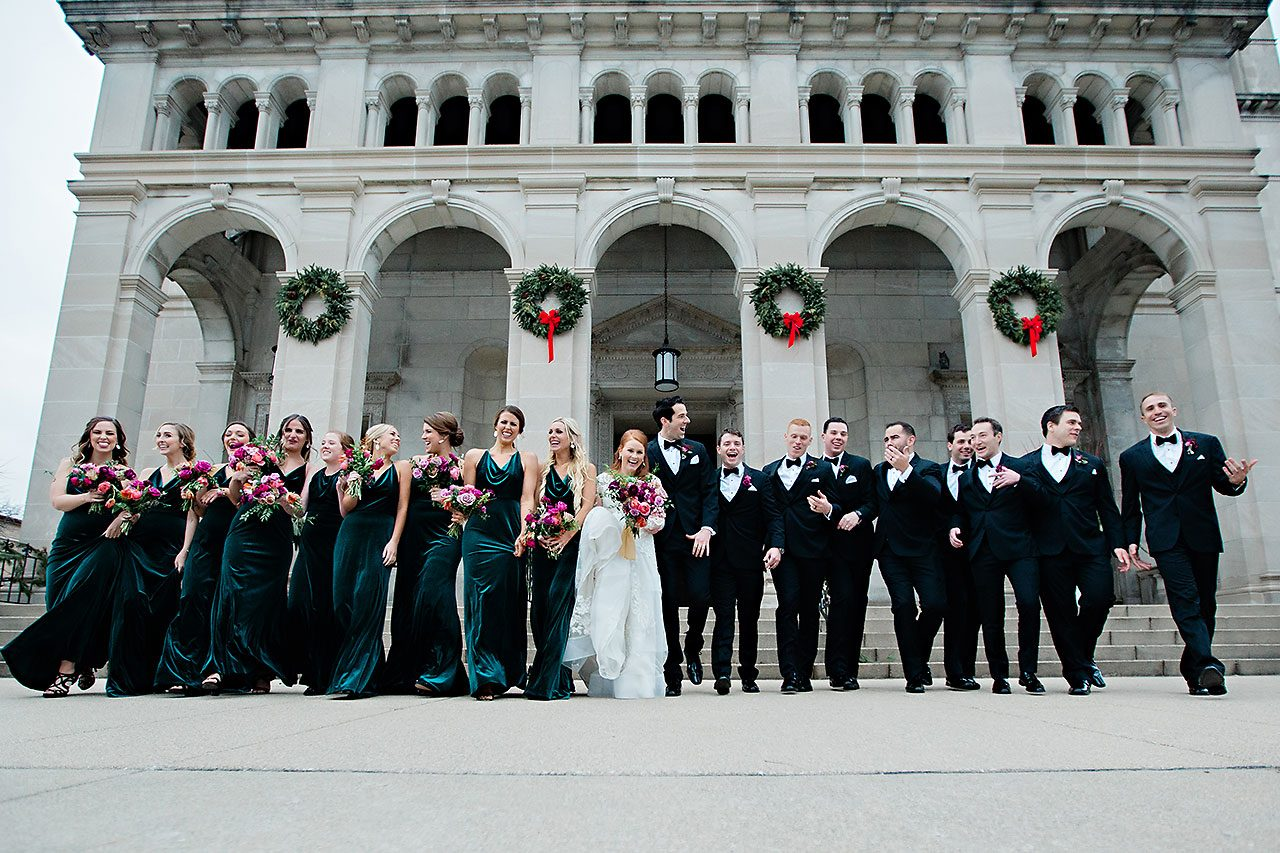 Marianne Steven Indianapolis Central Library Wedding 175