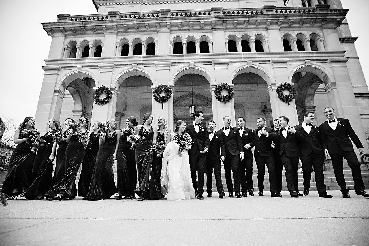Marianne Steven Indianapolis Central Library Wedding 177