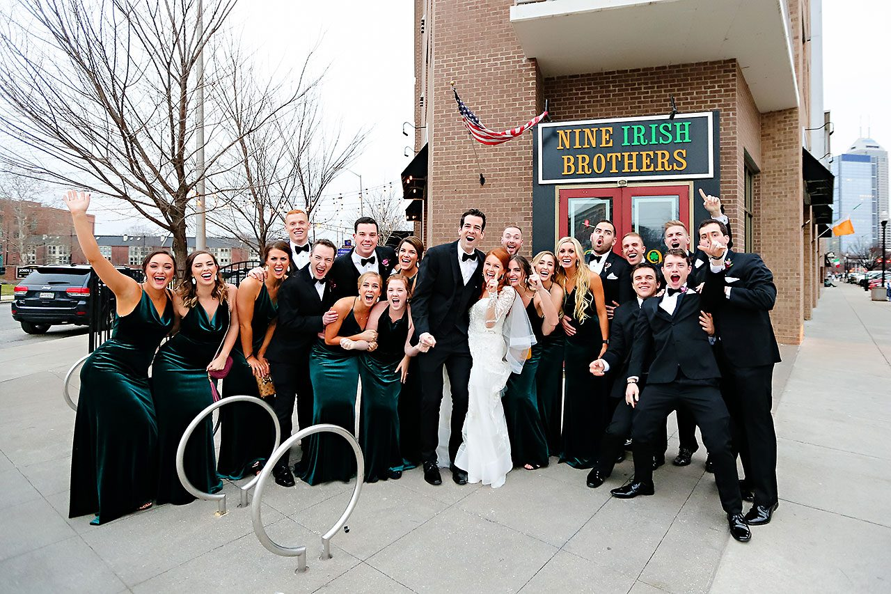 Marianne Steven Indianapolis Central Library Wedding 192